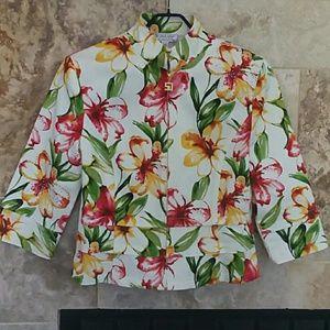 St. John Sport Floral Jacket